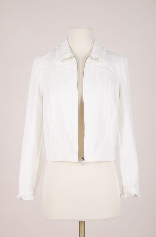 ReCollect Twill Ruffle Jacket