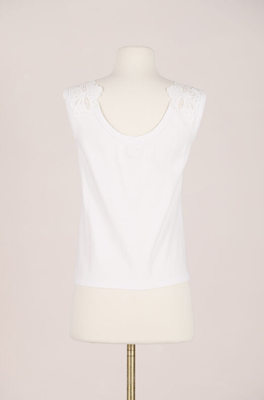 Recollect La Vie Embroidered Jersey Tank