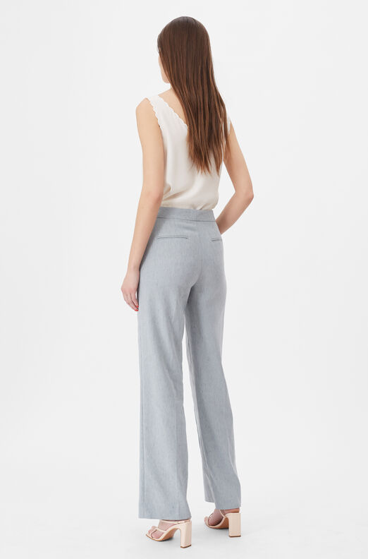 Tailored Stretch Linen Pant