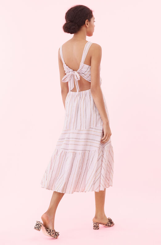 La Vie Lurex Stripe Dress