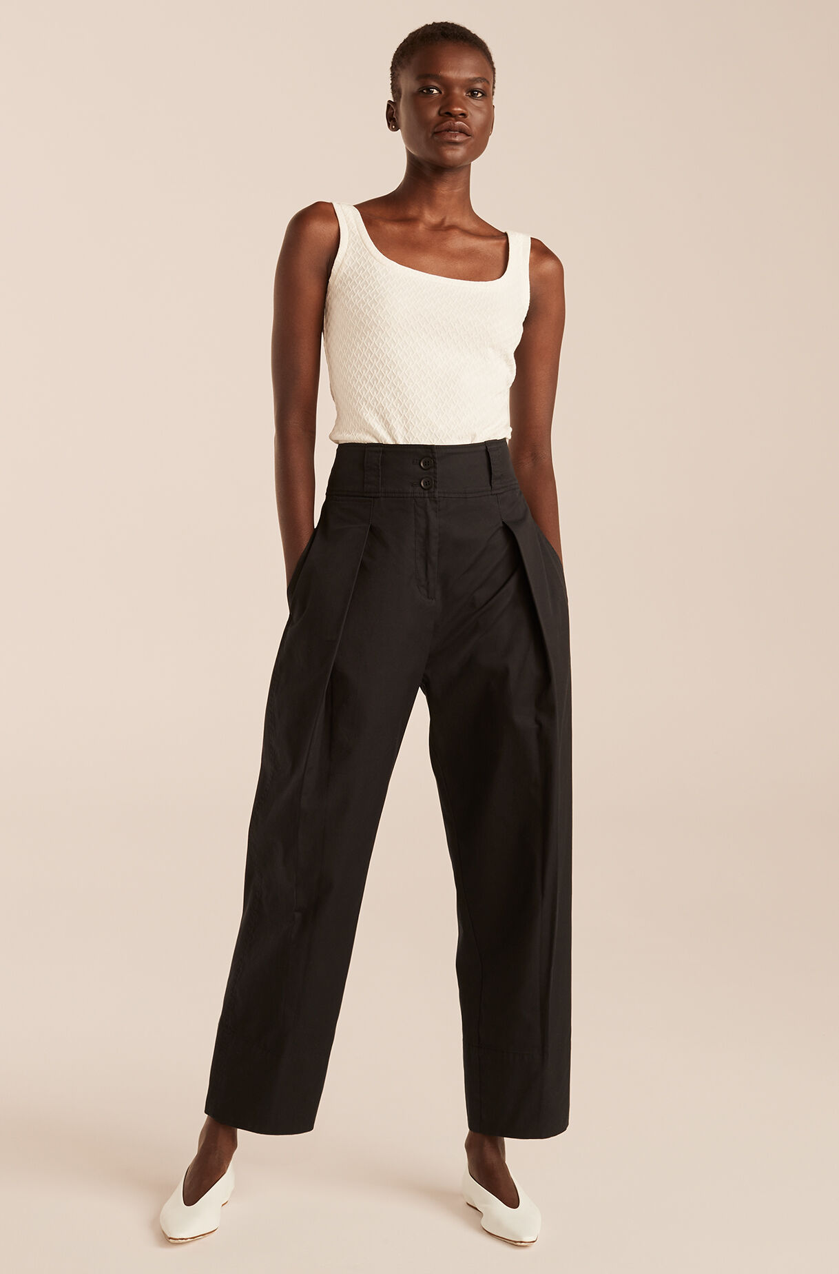 Casual Full Tapered Pant, , large