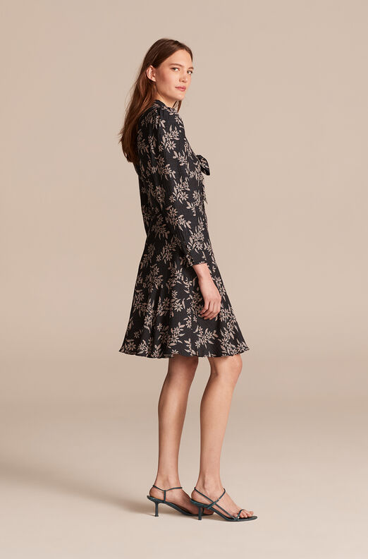 Cosmos Fleur Dress, Black Combo, large