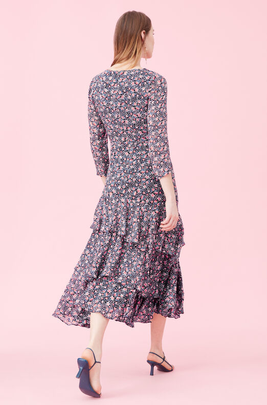 Twilight Bloom Clip Dress