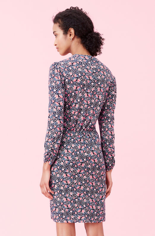Twilight Bloom Jersey Dress