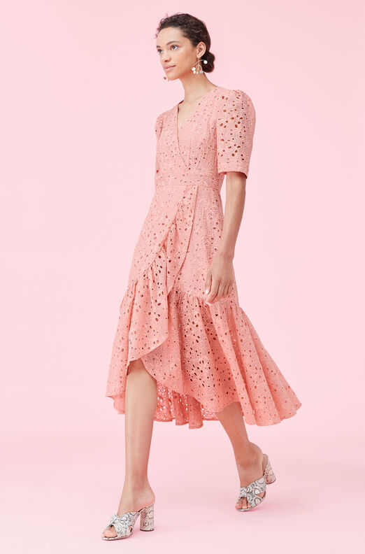 Clover Embroidered Dress
