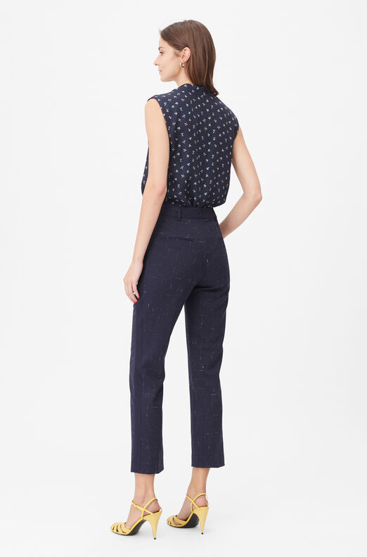 Tailored Cross Hatch Suiting Pant