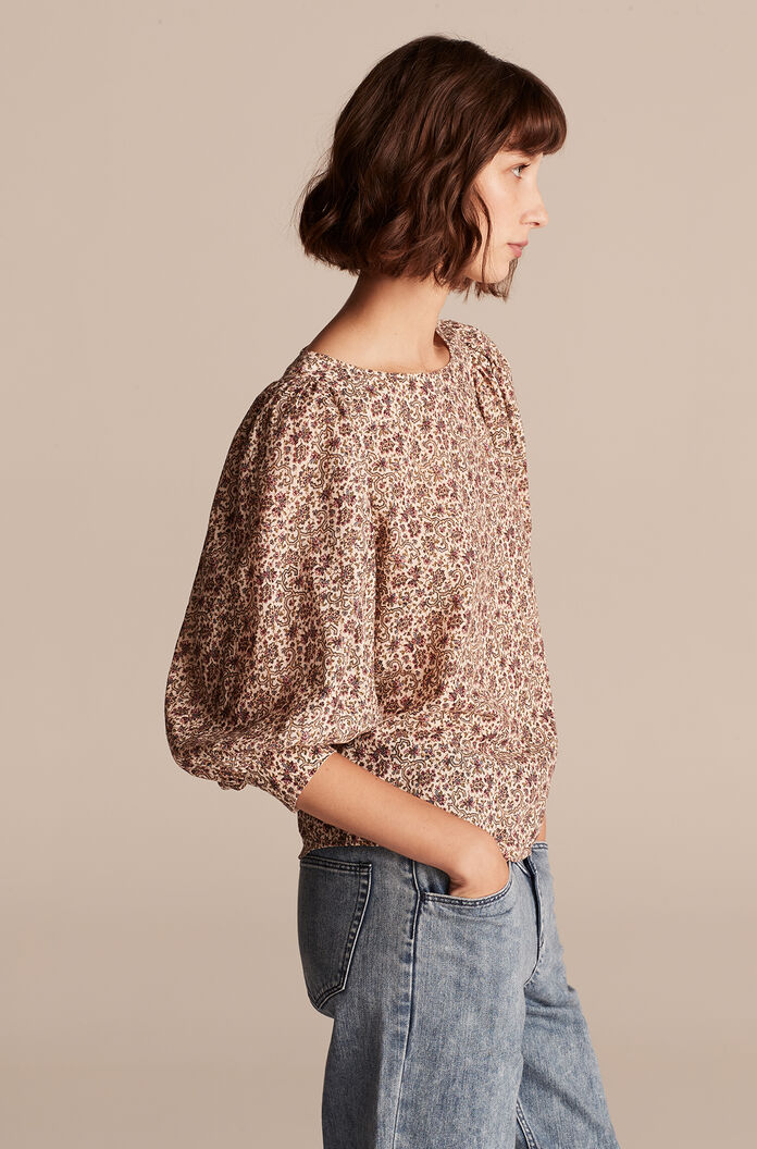 Claudine Top, Crystal Combo, large