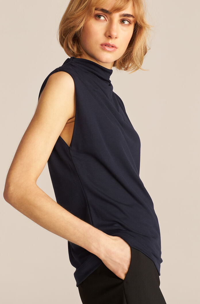 Tee Neck Shell, Night, large
