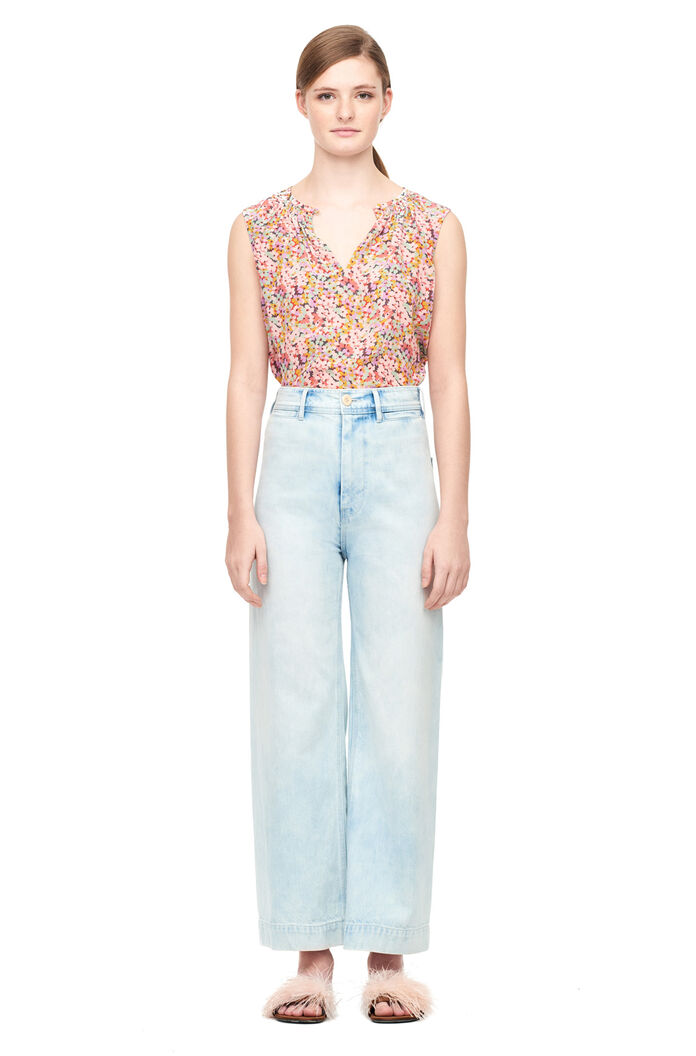 Margo Floral Silk Top by Rebecca Taylor