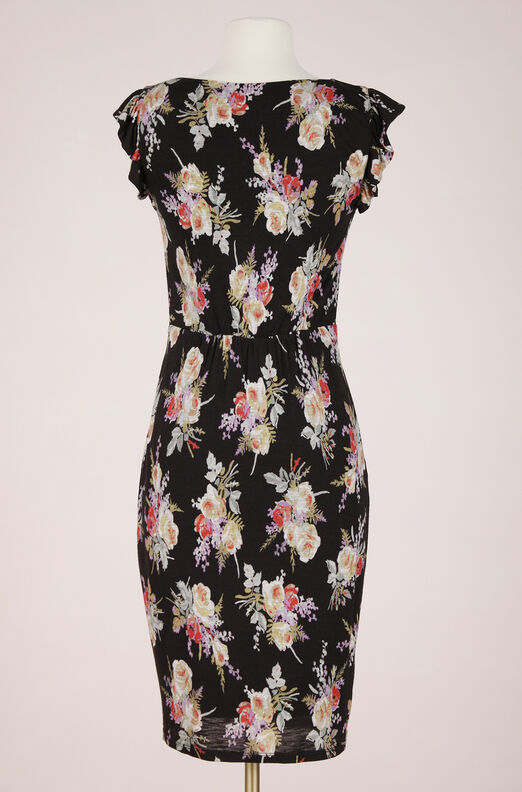 ReCollect Bouquet Floral Jersey Dress