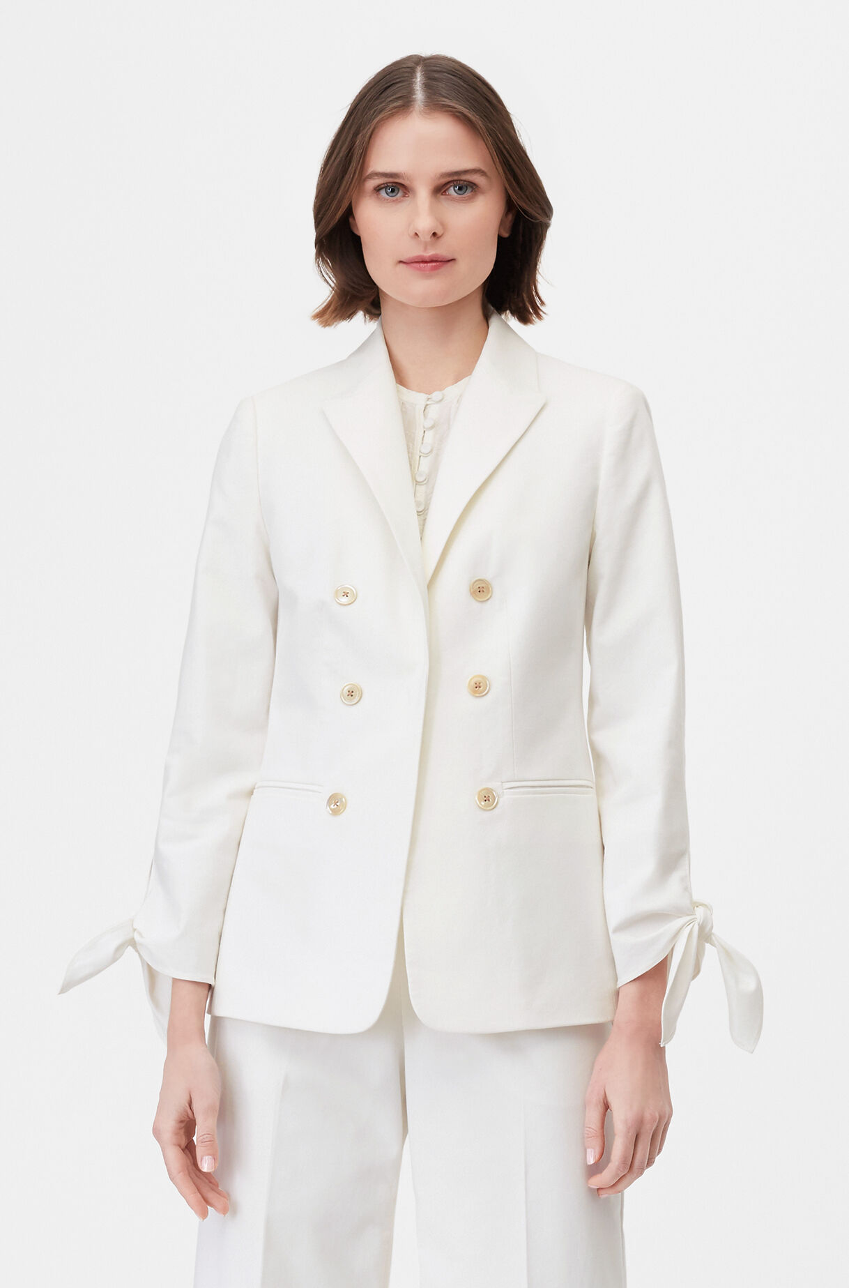 Tailored Stretch Modern Suiting Jacket