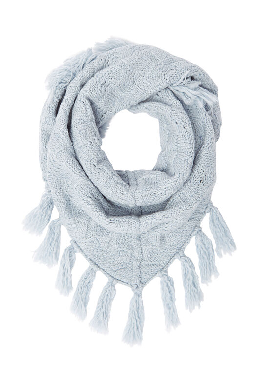 La Vie Merino Wool Scarf - Glace Heather