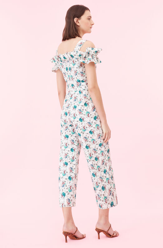 Off-The-Shoulder Carnation Fleur Jumpsuit