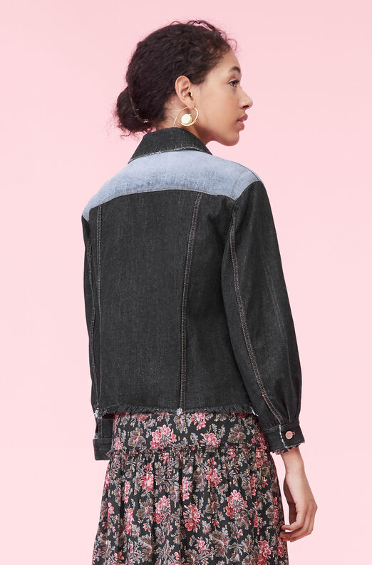La Vie Denim Patch Jacket
