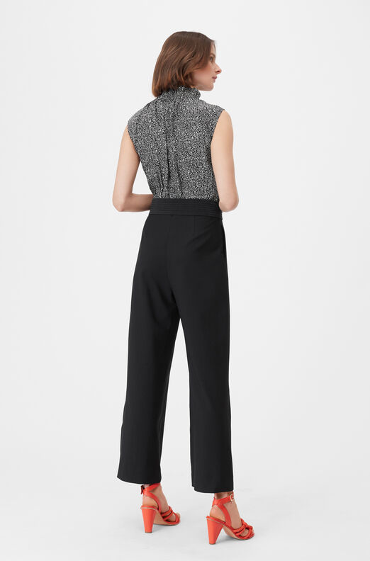 Tailored Block Print Jumpsuit