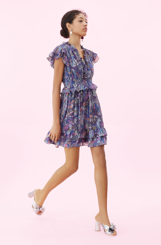 Giverney Fleur Ruffle Dress