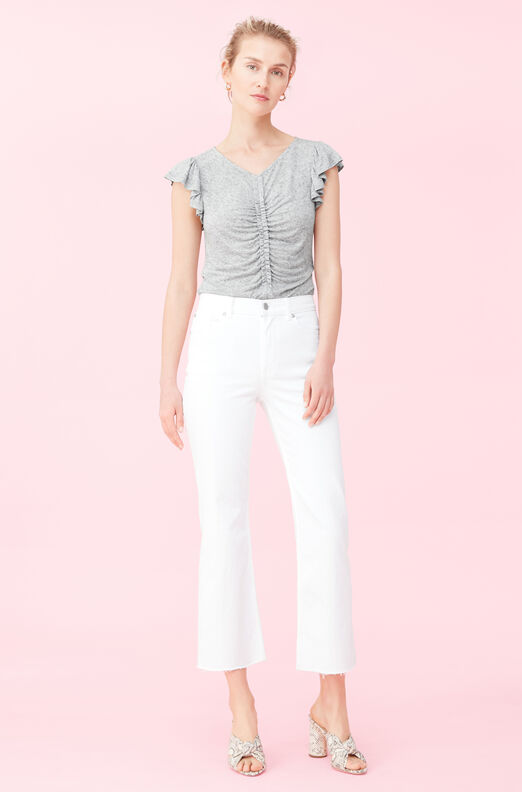 Ruched Jersey Top
