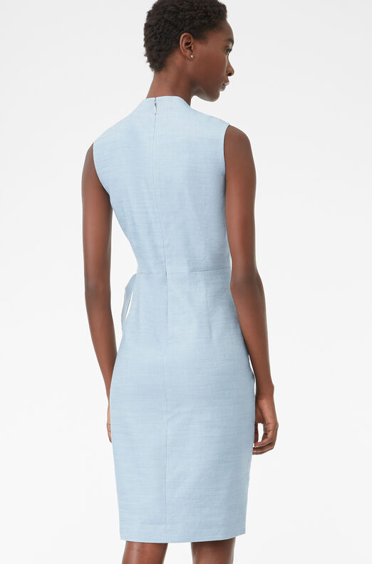 Tailored Twill Suiting Dress