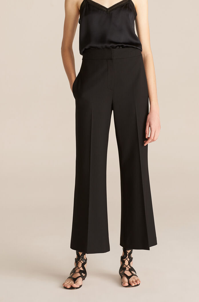 Cavalry Twill Flare Pant, Black, large