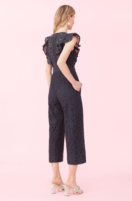 Clover Embroidered Jumpsuit