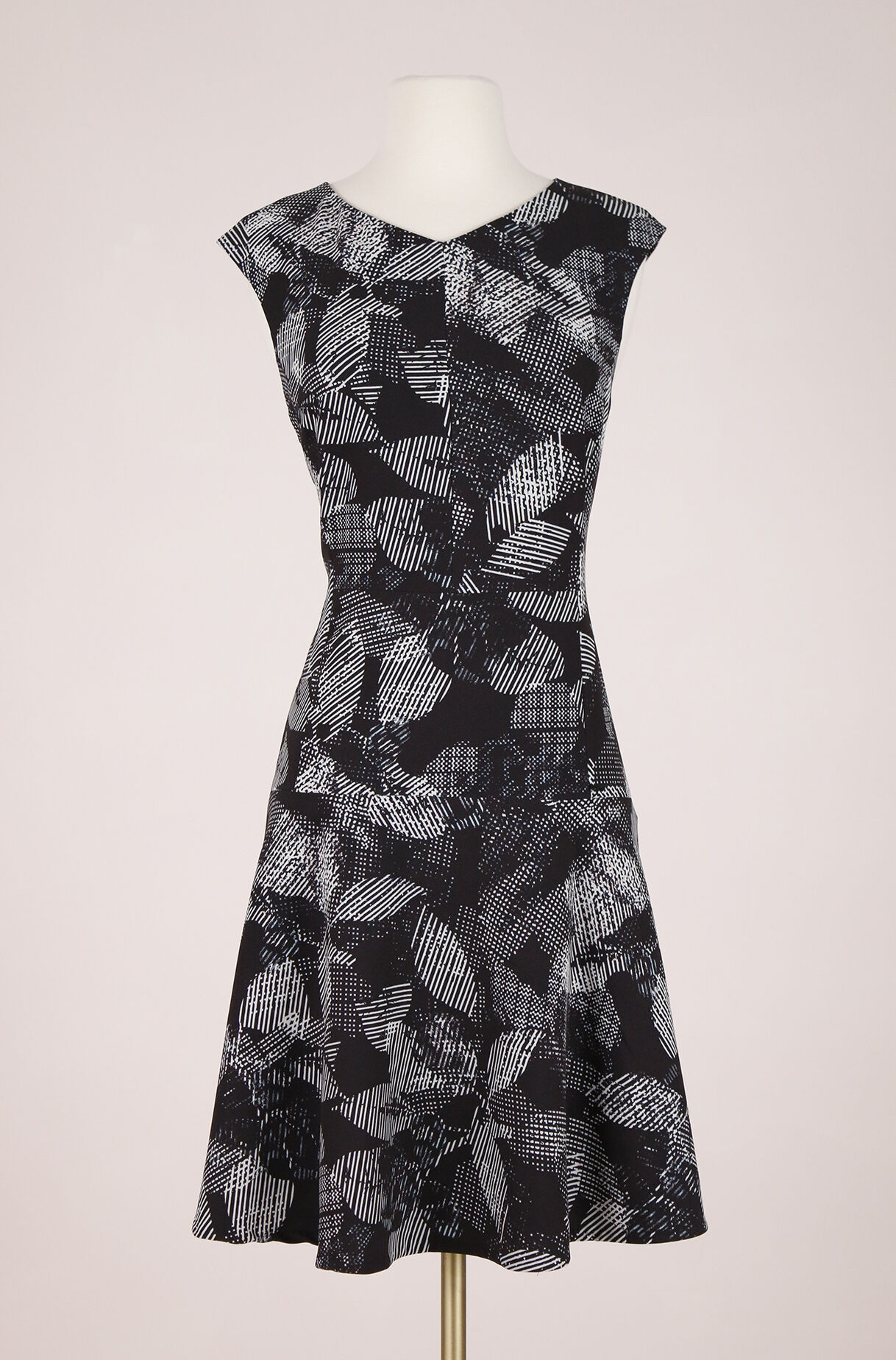 ReCollect Abstract Floral Dress