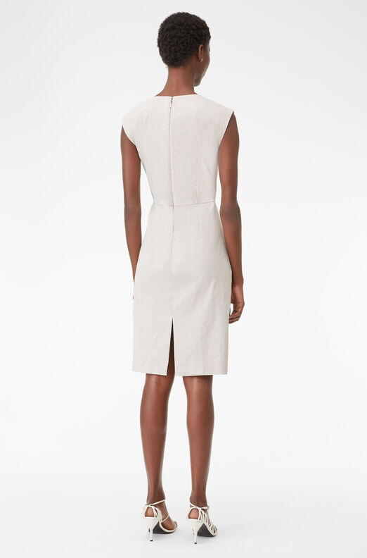 Tailored Techy Linen Suiting Dress