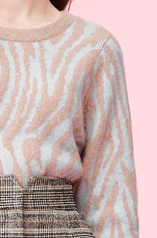 Tiger Stripe Pullover