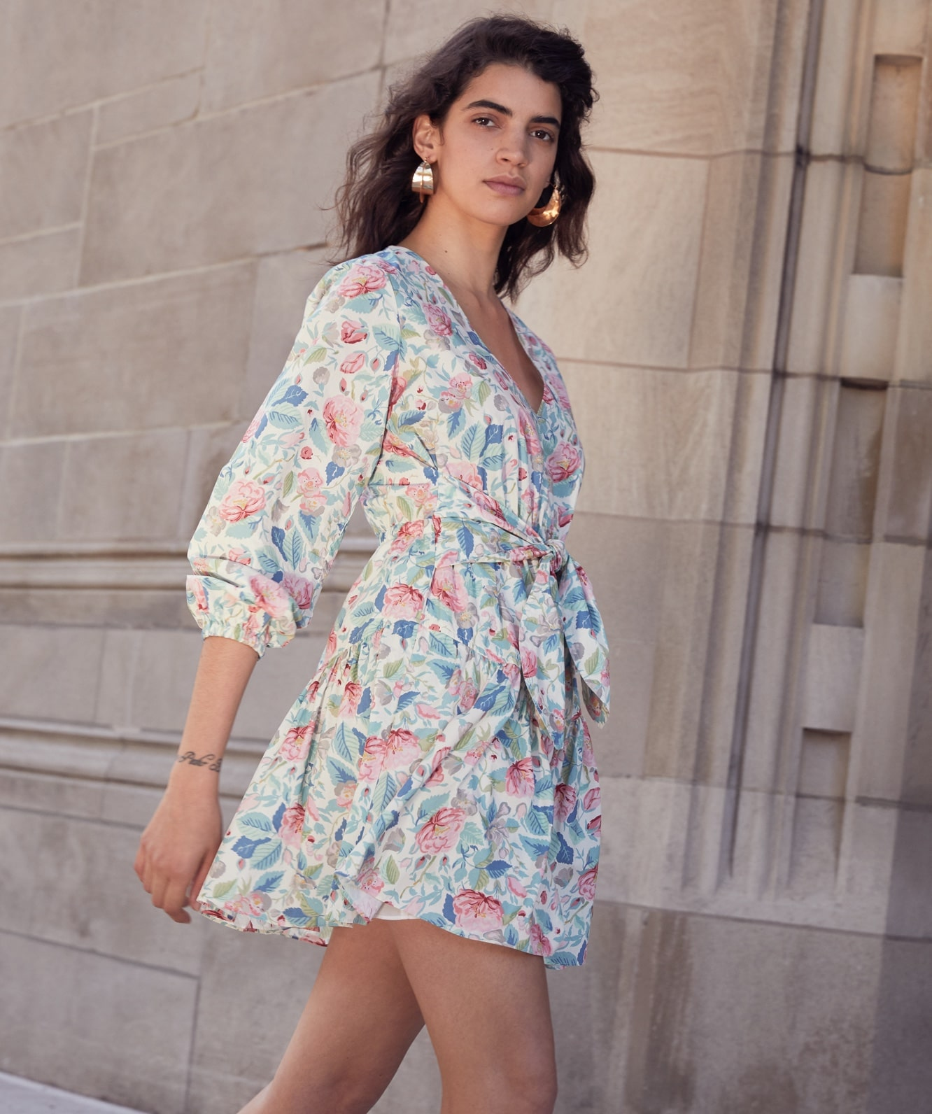 La Vie Painted Garden Dress