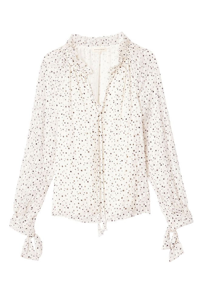 SCATTERED STAR PRINT TOP