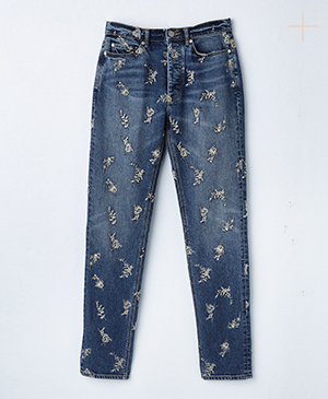 La Vie Embroidered Jean