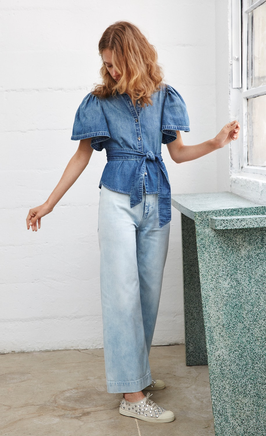 La Vie Denim Top