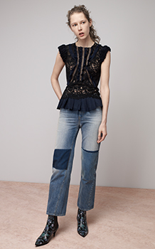 VIEN LACE TOP