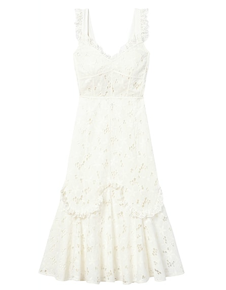 Adriana Embroidered Dress